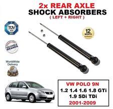 2x Amortiguadores traseros para VW POLO 1.2 1.4 1.6 1.8 GTI 1.9 SDI TDI