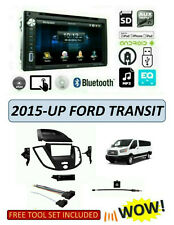 NEW BLUETOOTH TOUCHSCREEN Car Stereo Kit for 2015 - UP FORD TRANSIT VAN DVD USB