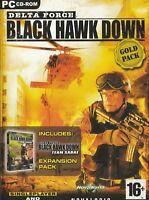 Pc Game - Delta Force - Black Hawk Down (Gold Pack) & Team Sabre Expansion Pack