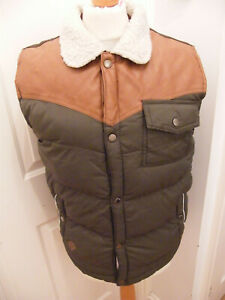 MENS BELLFIELD BODYWARMER GILLET SIZE SMALL VGC PADDED COSY ALL CLEAN