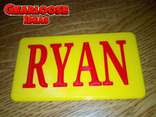 3D Printed personalised - Little Tikes Number Plate for COZY COUPE, POLICE CAR