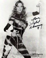 SYBIL DANNING signed Autogramm 20x25cm THE HOWLING in Person autograph BATTLE