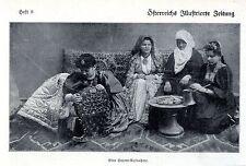 Eine Harem-Aufnahme * Bilddokument von 1908