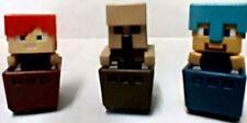 Minecraft mini figures X3 SERIES