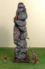 """WARHAMMER age of sigmar WAR GAME SCENERY """" MAGICAN CHAOS MONOLITH """" PRO PAINTED"""