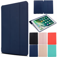 For Apple iPad 7th Generation 10.2 2019 Soft Leather Case Magnetic Smart Cover