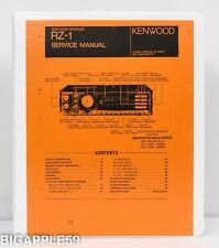 Kenwood RZ-1 Service Manual For AM FM Shortwave VHF UHF Receiver