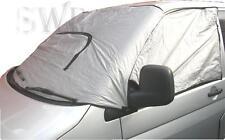Vw T4 transporter van windscreen blinds outside Padded thermals external camper