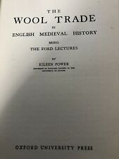 Vintage Book Medieval Wool Trade English History Eileen Power Ford Lectures