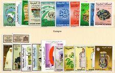 Maroc - Lot de 26 timbres + 1 bloc-feuillet - Neufs N** TTB