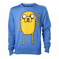 Adventure Time Jake Sudadera Macho Grande Azul (KW0GDBADV-L)