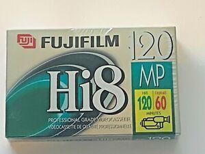 FUJIFILM HI8 MP P6-120 Professional Grade Video Cassette Blank Sealed NIP New