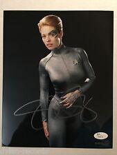 Jeri Ryan 7 of 9 Singed Autogragh Jsa Coa 8 x 10 photo Star Trek Voyager