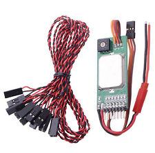 Multifunctional Remote Switch RC Smoke light Control servo Signal Input RCD3003
