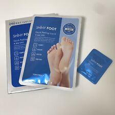TONYMOLY Quick Peeling Liquid Shiny Foot Mask 1 pairs for 6 in 1 Special Care