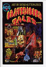 GRAVEDIGGER TALES #1 VF+ Avalon 1999 ACG Comics Horror Sutton Mike Zeck Ditko