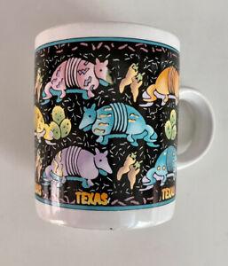 Vintage Armadillo Texas MUG/Shot Glass Tea CUP HOT/COLD