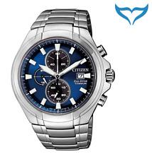 Citizen Super Titanium Chronograph Armbanduhr CA0700-86L Saphir Eco-Drive Herren