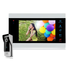 "HOT 7"" HD Video Doorbell Phone Intercom Security Camera Door Access Controller!"