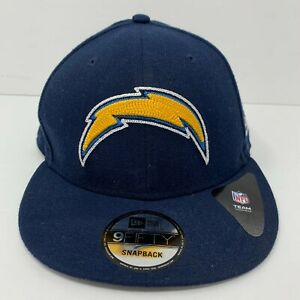 Los Angeles Chargers Snapback Hat NFL Blue & Gold New Era 9Fifty OSFM NWT