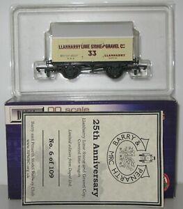 Dapol OO Gauge Ltd Edition Llanharry 10T Covered Lime Wagon #33 Unused