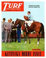 Northern Dancer  Kentucky Derby Turf & Sport Digest Photo Cover 10 x 8