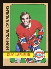 1972 Topps Hockey #79 Guy Lafleur Montreal Canadiens HOF EX-MT