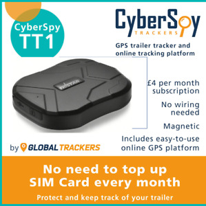CyberSpy TT1 Tracker, UK Software,Waterproof Device, Vehicle Tracking System