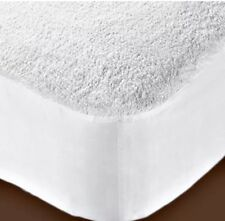 Cot Bed Size Terry Mattress Protector Sheet Cover Waterproof Washable Urine