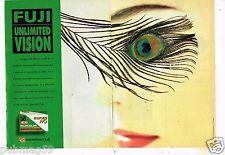 Publicité Advertising 1992 (2 pages) Pellicule Photo Fujicolor Fuji Unlimited