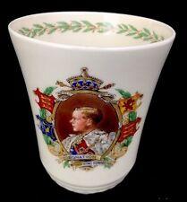 King Edward VIII Coronation May 12, 1937 Commemorative Beaker Royal Doulton