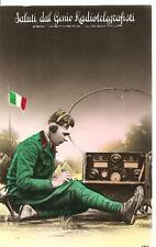 Saluti dal GENIO Radiotelegrafisti - PER AETHERA LOQUIMUR  Torino 1941-XIX