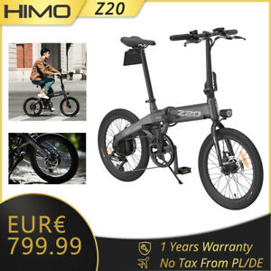 HIMO Z20 Mountainbike Faltbares Elektrofahrräder 3 Modi Motor E-Bike(Gray)