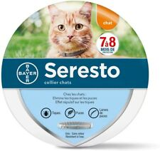 Bayer Seresto Collier Gris Antiparasitaire pour Chats (1407034)