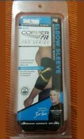 Compression Elbow Sleeve #1 Copper Fit Support -pro series  size L.As seen on TV