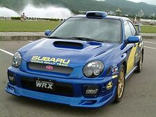 MESH FOG LIGHT FOG LAMP COVER FIT 2002 2003 02 03 BUGEYES IMPREZA WRX STI