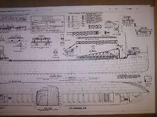 great lakes  ship CALCITE ship plan