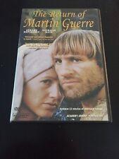 THE RETURN OF MARTIN GUERRE DVD GERARD DEPARDIEU  AUTHENTIC USA VERSION