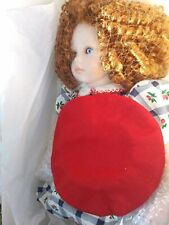 "Pauline's Limited Edition 19"" Porcelain Doll with stand new with tags.Georgina"