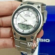 NEW CASIO AW-80D-7A2 SPORTS ANALOG DIGITAL DATABANK WORLD-TIME ALARM MEN'S WATCH
