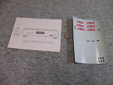 Microscale decals HO 87-350 Van Gas Olin Chemicals tank cars    H108
