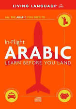 In-Flight Arabic: Learn Before You Land   CD   second hand