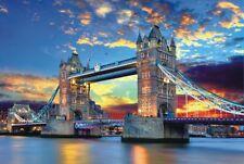 1000 Piece Adult Puzzle Tower Bridge London Sunrise Jigsaw Educational Toys Gift