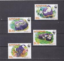 Aitutaki 2002 - MNH - Vogels / Birds - (WWF/WNF)