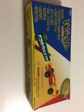 Wood Model Kit Red Yellow Race Car Kit Complete Project For Active Minds