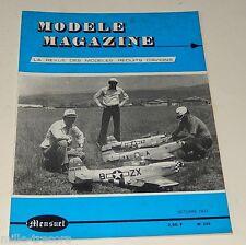 MODELE Magazine N°255 1972 - Modèles Réduits d'AVIONS : Plan STRATUS 01 - WAK