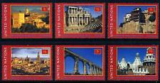UN - NY . 2000 Spain World Heritage Booklet Singles (6) . Mint Never Hinged