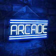 """ARCADE"" Hand Craft Custom Neon Sign Boutique Pub Bedroom Party Wall Display"