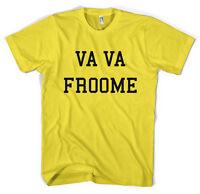 Chris Froome Team Sky Tour De France Unisex T-Shirt All Sizes
