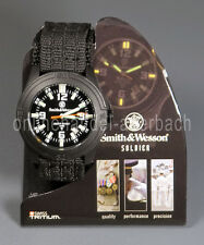 Smith & Wesson swiss tritio militar reloj reloj pulsera outdoor sww-12t-n